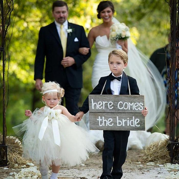 Las mejores ideas para los pajes de boda más originales
