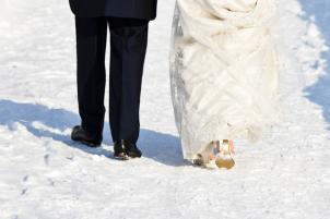 10 ideas encantadoras y románticas para una boda en invierno