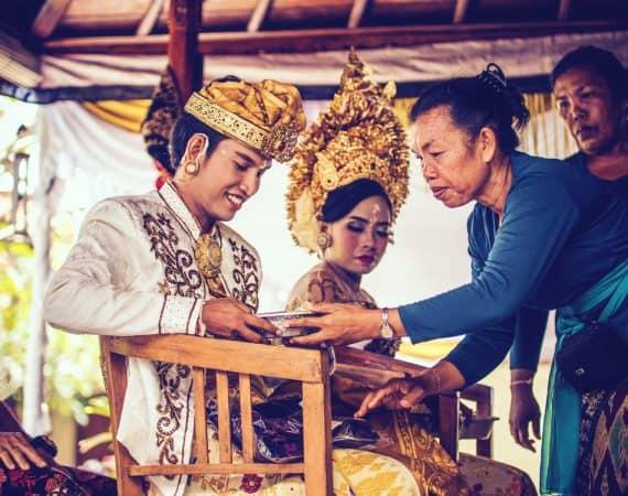 Cómo son las bodas balinesas