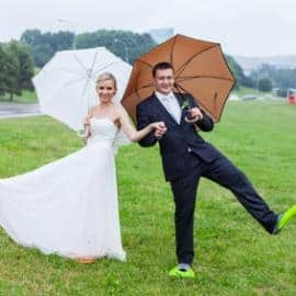 We have a sollution for rainy wedding day