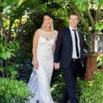 El hermoso y sencillo vestido de la novia de Mark Zuckerberg