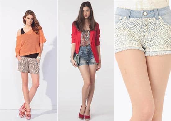 Shorts verano 2012