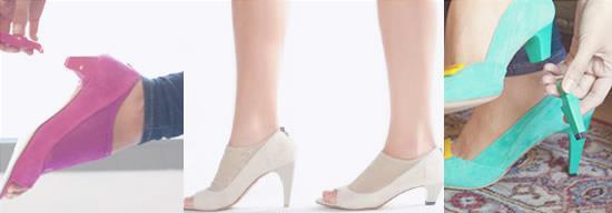 Zapatos desmontables