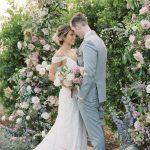 Al Fresco Garden Wedding With Whimsical Pastel Blooms ⋆ Ruffled