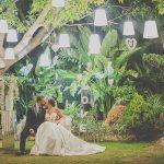 Una boda en un parque
