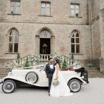 Las novias princesa se desmayarán por esta inspiración para la boda en el Castillo de Clearwell[