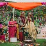 Esta increíble inspiración de boda india tiene vibraciones de boda real[