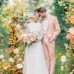 Un poema de John Keats fue la musa de esta boda de temporada en un castillo francés