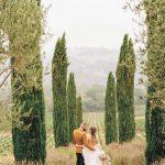 Inspiración amarilla para bodas en la Toscana en el valle de Sonoma