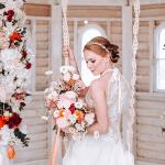 Inspiración para una boda de primavera con cítricos y melocotón de Alemania