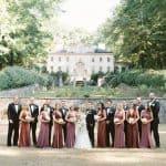 Una boda inspirada en el jazz en Swan House de Atlanta